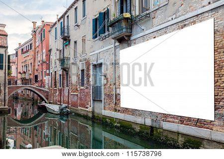 Advertising Billboard In Venice