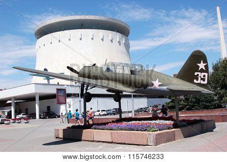 The Su-2 (bb-1). Volgograd, Russia