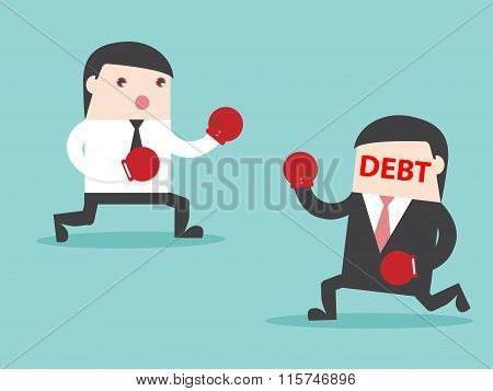Debt Vs Businessman