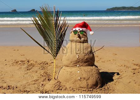 Exotic Christmas sandman