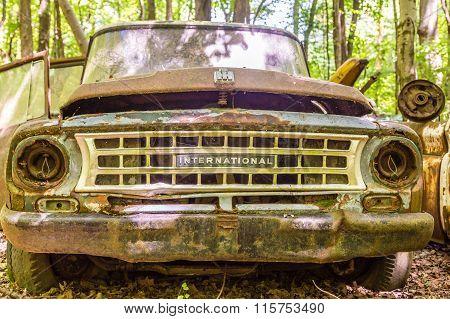 Old International Harvester