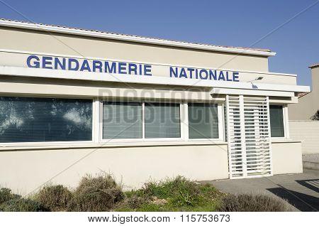 Gendarmerie french police