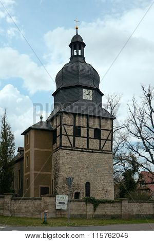 St. Lawrence Church In Saaleck, Germany