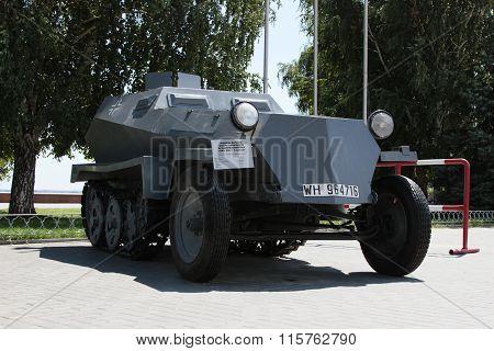 German Armored Personnel Carrier. Volgograd, Russia