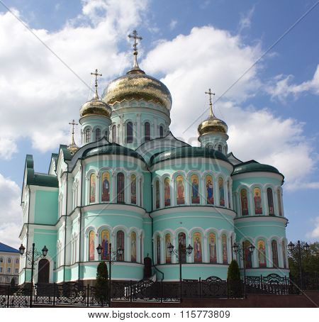This Is Holy Trinity Cathedral Of The Holy Ascension Monastery