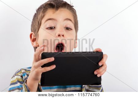 Boy And His Tablet