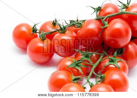 Tomato isolated on white background cutout