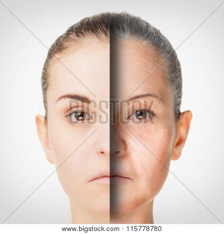 Aging Process, Rejuvenation Anti-aging Skin Procedures