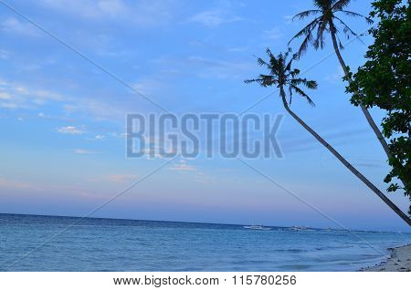 sunrise at Amaraili Beach, Panglao Island, Bohol, Philippines