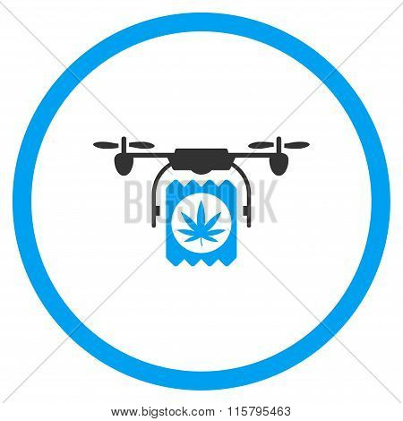 Grass Painkiller Airdrone Delivery Icon