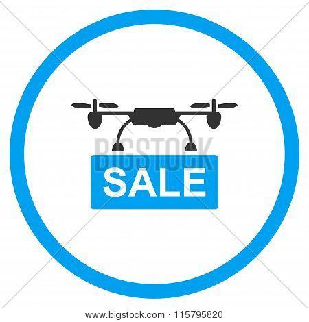 Aircraft Sale Flat Icon