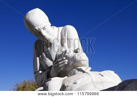 The Monument To The Doctors. Sochi, Russia