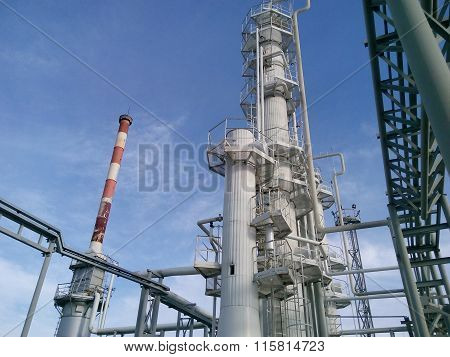 Distillation Columns And Heating Furnace