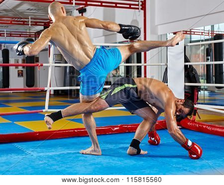 Kickboxers In The Ring