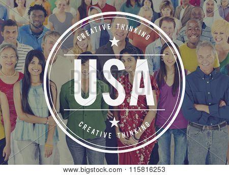 USA America American Liberty Patriot United States Concept