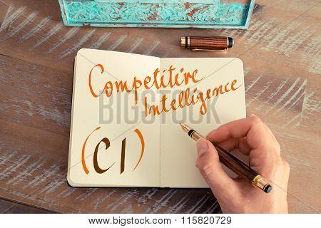Business Acronym Ci Competitive Intelligence