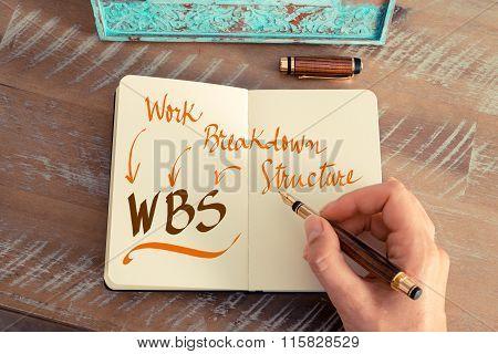 Business Acronym Wbs Work Breakdown Structure