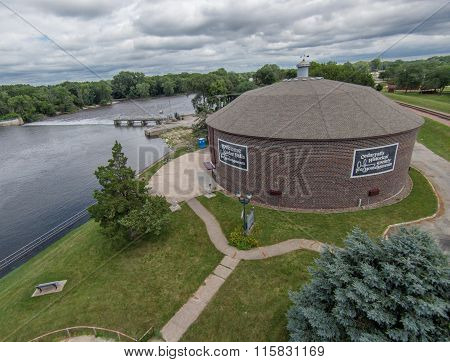 Ice House In Cedar Falls, Iowa