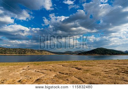 Drought At Wyangala Dam, Lachlan Valley, Nsw