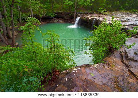 View Of Falling Water Falls On Falling Water Creek