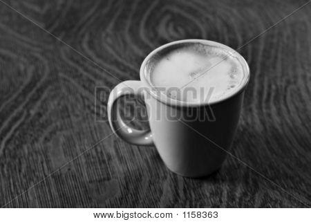 Morning Latte Black And White