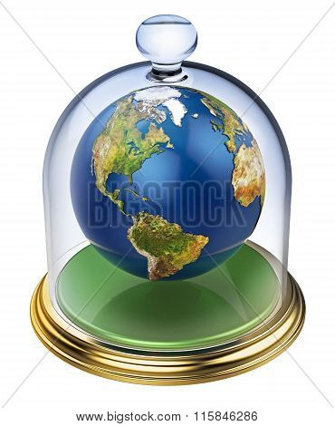 Planet earth is protected
