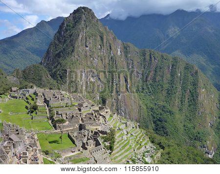 Machu Picchu Inka Sacred Ruin