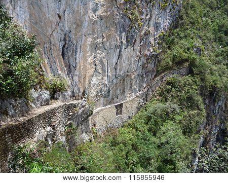 Puente Del Inka At Machu Picchu