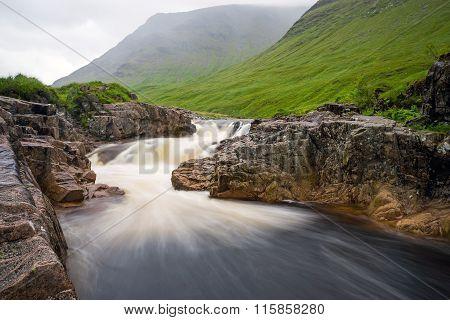 The river Etive in Glen Coe