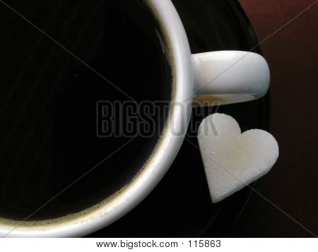 Coffee Cup & Sugar