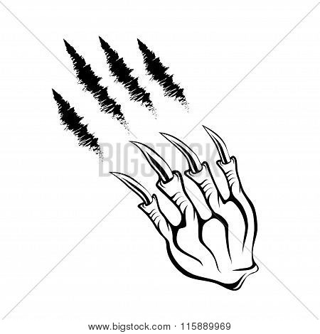 Monster Claws And Claws Marks
