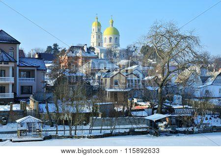 Bila Tserkva, Ukraine - January 24, 2016. Orthodox Church of St. Mary Magdalene.