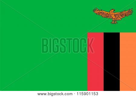 Standard Proportions For Zambia Flag