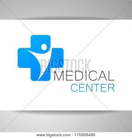 Medical logo, medical center logo, health logo, doctor logo, medicine logo, medical icon. Logo design template for clinic, hospital, medical center, doctor and itc.
