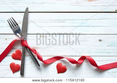 Valentines Meal Background