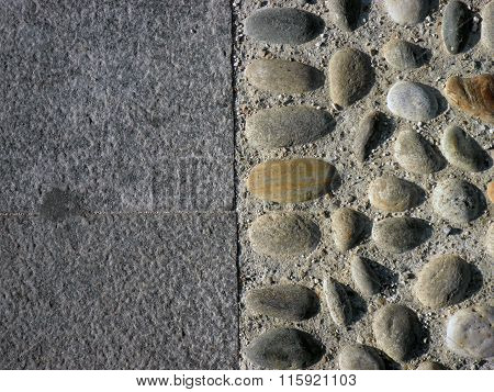 Street Pavement In Italy (Monza)