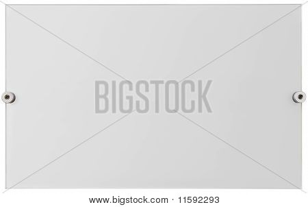 Plexiglass Plate Cutout