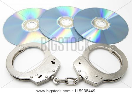 Handcuffs And Optical Discs