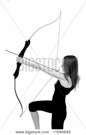 Archery - Woman With Bow
