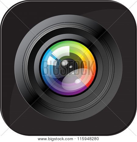 Camera icon. Photo icon. Vector Illustration