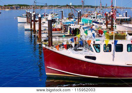 Cape Cod Provincetown port in Massachusetts USA