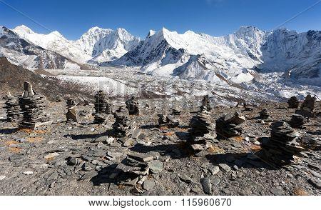 Top Of Mount Makalu, Kali Himal, Beautiful Mountain