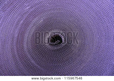 Abstract Roll Of Corrugated Paperboard