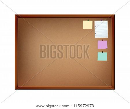 Notice Board With Pins