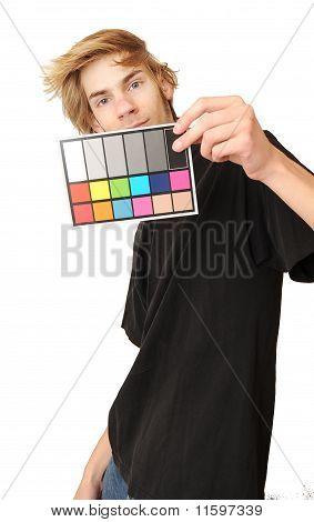 18% Gray White Balance Color Card