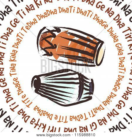 Indian Musical Instruments - Dholak And Mridanga