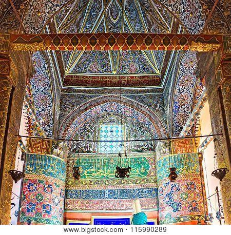 The Interior Of Mevlana Mausoleum