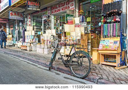 The Shopping Street Of Konya