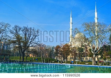 The White Mosque Of Konya
