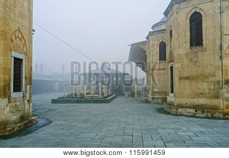 The Misty Cemetery